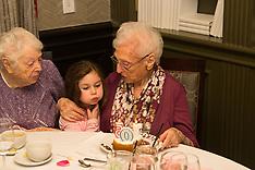 Helen's 105th Birthday 1/13/18