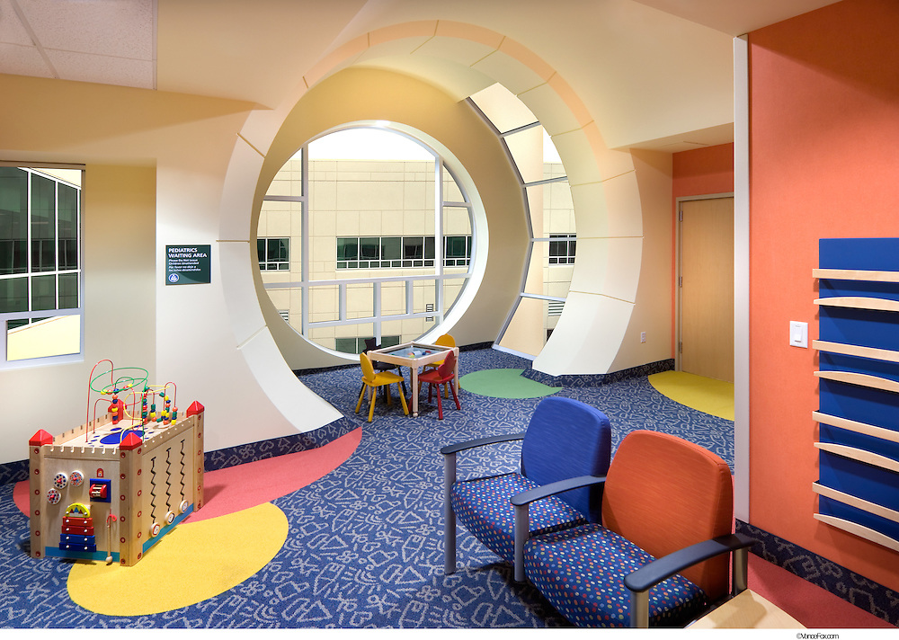 Carson Tahoe Hospital by Moon Mayoras Architects and Brandt Design Group in Carson City, NV