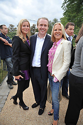 Left to right, JOE & ALEX BAMFORD and his sister MISS ALICE BAMFORD at the unveiling of 'Isis' a sculpture by Simon Gudgeon hosted by the Royal Parks Foundation and the Halcyon Gallery by the banks of The Serpentine, Hyde Park, London on 7th September 2009.