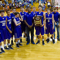 12-12-15 Berryville SR High Boys vs Huntsville  GF Holiday Tourney Championship Game