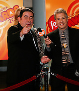 Emeril Lagasse (right) is interviewed by Marc Summers at the First Food Network Awards Show at the Jackie Gleason Theater  of the Performing Arts, in Miami, FL on  Feb 23, 2007.  (Photo/Lance Cheung) <br /> <br /> PHOTO COPYRIGHT 2007 LANCE CHEUNG<br /> This photograph is NOT within the public domain.<br /> This photograph is not to be downloaded, stored, manipulated, printed or distributed with out the written permission from the photographer. <br /> This photograph is protected under domestic and international laws.