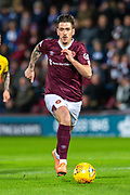 Jamie Walker (#10) of Heart of Midlothian FC during the Ladbrokes Scottish Premiership match between Heart of Midlothian FC and Livingston FC at Tynecastle Park, Edinburgh, Scotland on 4 December 2019.