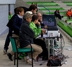 Supervising Judge Panel - Grand Prix Team Competition Dressage - Alltech FEI World Equestrian Games™ 2014 - Normandy, France.<br /> © Hippo Foto Team - Leanjo de Koster<br /> 25/06/14