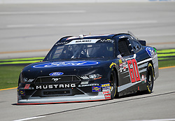 April 27, 2018 - Talladega, AL, U.S. - TALLADEGA, AL - APRIL 27:  Ty Majeski, Roush Fenway Racing, Ford Mustang Ford during practice for the NASCAR Xfinity Series Sparks 300 race on April 27, 2018, at the Talladega Superspeedway in Talladega, AL.  (Photo by David John Griffin/Icon Sportswire) (Credit Image: © David J. Griffin/Icon SMI via ZUMA Press)