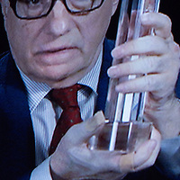 Martin Scorsese  reward Kurosawa  at Samurai  award