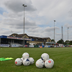 TELFORD COPYRIGHT MIKE SHERIDAN A general view of Latimer Park during the National League North fixture between Kettering Town and AFC Telford United at Latimer Park on Saturday, August 3, 2019<br /> <br /> Picture credit: Mike Sheridan<br /> <br /> MS201920-005