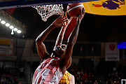 Jeremy Simmons<br /> Openjobmetis Varese - Carpegna Prosciutto Basket Pesaro<br /> Basket Serie A LBA 2019/2020<br /> Varese 15 December 2019<br /> Foto Mattia Ozbot / Ciamillo-Castoria