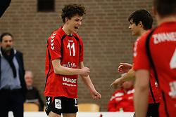 20170225 NED: Eredivisie, Valei Volleybal Prins - Coolen - Alterno: Ede<br />Pim Franken of Valei Volleybal Prins <br />©2017-FotoHoogendoorn.nl / Pim Waslander