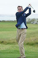 23/08/2015 repro free Ryan Tubridy at Connemara Golf Club in Ballyconneely Co Galway who received honorary Life Membership from the Club.<br /> Photo:Andrew Downes, xposure.