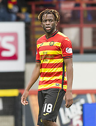 Partick Thistle Andrea Mbuyi-Mutombo during the Betfed Cup Second Round match at the Energy Check Stadium at Firhill, Glasgow.
