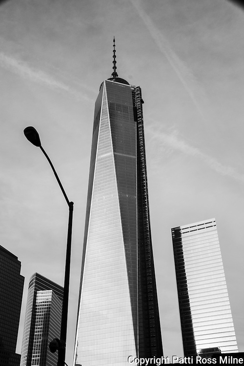 The new One World Trade Center, or Freedom Tower in NYC.