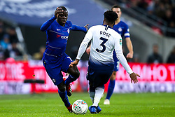 Ngolo Kante of Chelsea goes past Danny Rose of Tottenham Hotspur - Mandatory by-line: Robbie Stephenson/JMP - 08/01/2019 - FOOTBALL - Wembley Stadium - London, England - Tottenham Hotspur v Chelsea - Carabao Cup