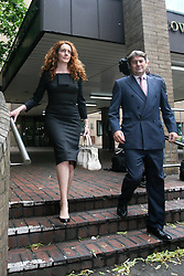 © Licensed to London News Pictures. 12/06/2012. London,Britain.Rebekah Brooks and his husband Charlie leaves the Crown Court Southwark. Photo credit : Thomas Campean/LNP..