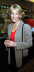 MRS TRACEY BAILEY close friend of Johnny Francome,  at a party in London on 2nd November 1999.MYL 34