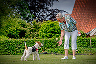 HERNA Nijkrake lonneker met haar hond ROBIN UTRECHT