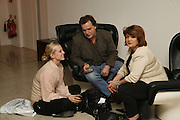 LUCY CLELAND, BILL KNOTT AND HENRIETTA GREEN, launch of Thomasina MiersÍ cookbook, entitled COOK, at the Hospital, ENDELL ST. LONDON.  16 OctobeR 2006. -DO NOT ARCHIVE-© Copyright Photograph by Dafydd Jones 66 Stockwell Park Rd. London SW9 0DA Tel 020 7733 0108 www.dafjones.com