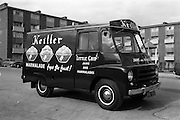 05/09/1962<br /> 09/05/1962<br /> 05 September 1962<br /> William and Woods, Keillers van at William and Woods, Loftus Lane, near Parnell St. (Transport Dept.) Dublin.