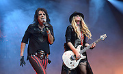 Alice Cooper and Orianthi