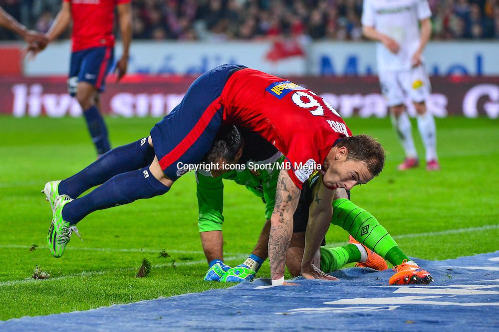Nolan ROUX / Rudy RIOU - 03.02.2015 - Lille / Lens - 35eme journee de Ligue 1<br />Photo : Dave Winter / Icon Sport