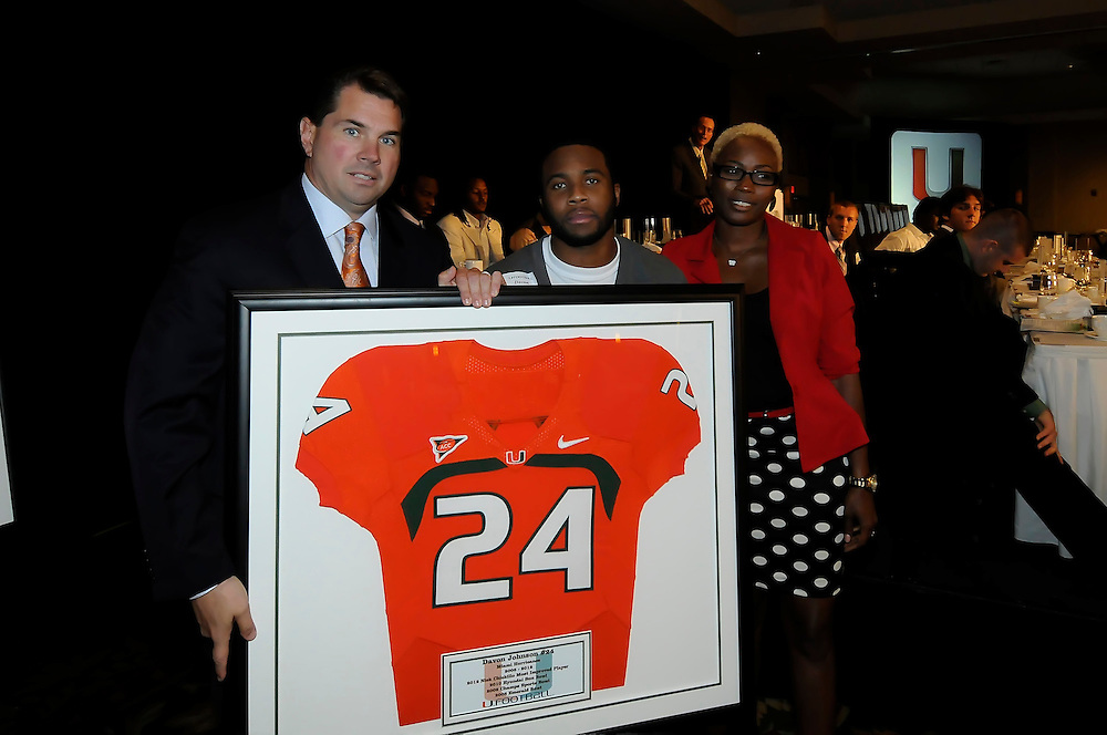 2012 Miami Hurricanes Football Awards Banquet