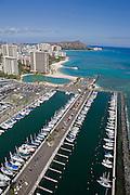 Ala Wai Yacht HarborWaikiki Beach, Waikiki, Oahu, Hawaii<br />