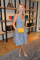 MARISSA HERMER at a lunch hosted by Alice Naylor-Leyland and Tamara Beckwith in celebration of the Coach 2015 collection held at Coach, New Bond Street, London on 18th September 2014.