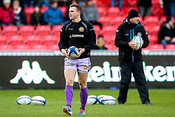 Joe Simmonds of Exeter Chiefs - Mandatory by-line: Robbie Stephenson/JMP - 08/12/2019 - RUGBY - AJ Bell Stadium - Manchester, England - Sale Sharks v Exeter Chiefs - Heineken Champions Cup