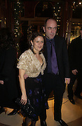 "James Nesbitt and Sonia Nesbitt.  The after show party following the UK Premiere of ""Match Point,"" at Asprey, New Bond st. London.   December 18 2005 ,  ONE TIME USE ONLY - DO NOT ARCHIVE  © Copyright Photograph by Dafydd Jones 66 Stockwell Park Rd. London SW9 0DA Tel 020 7733 0108 www.dafjones.com"