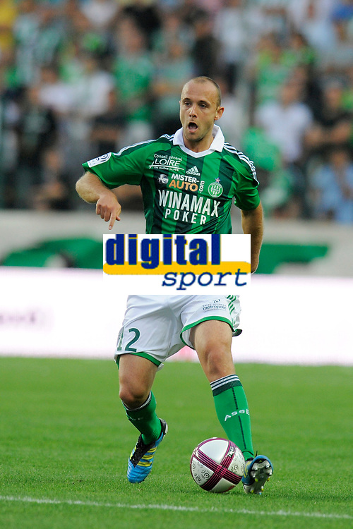 FOOTBALL - FRENCH CHAMPIONSHIP 2011/2012 - L1 - AS SAINT ETIENNE v AS NANCY LORRAINE - 13/08/2011 - PHOTO JEAN MARIE HERVIO / DPPI - JEAN PASCAL MIGNOT (ASSE)
