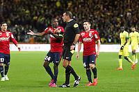 Wilfried BIEN / Rio MAVUBA - 31.01.2015 - Nantes / Lille - 23eme journee de Ligue 1 -<br />Photo : Vincent Michel / Icon Sport