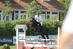 Köhlbrandt, Hinerk, Crack One<br /> Fehmarn - Holsteiner Masters<br /> Springpferde Kl. A, 5+6j. Pferde<br /> © www.sportfotos-lafrentz.de/ Stefan Lafrentz
