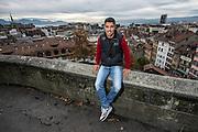 16.10.2014; Lausanne; Fussball Challenge League - FC Lausanne-Sport;<br /> Christian Ianu (Lausanne)<br /> (Urs Lindt/freshfocus)