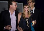 ORLANDO AND CLEMENTINE FRASER AND MATTHEW CARR, Matthew Carr: New Work. Marlborough Gallery. Albermarle St. London. 24 June 2008.  *** Local Caption *** -DO NOT ARCHIVE-© Copyright Photograph by Dafydd Jones. 248 Clapham Rd. London SW9 0PZ. Tel 0207 820 0771. www.dafjones.com.