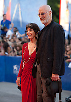 James Cromwell and Anna Stuart at the premiere of the film The Young Pope at the 73rd Venice Film Festival, Sala Grande on Saturday September 3rd 2016, Venice Lido, Italy.