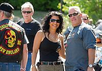 The 2015 Peter Makris Memorial Ride from the Naswa Resort.  Karen Bobotas/ for the Laconia Daily Sun