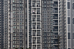 New apartment building is seen in Chongqing, China, March 4, 2009.