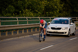Joëlle Numainville (Cervélo Bigla) at Thüringen Rundfarht 2016 - Stage 4 a 19km time trial starting and finishing in Zeulenroda Triebes, Germany on 18th July 2016.