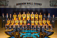 October 3, 2017 - Johnson City, Tennessee - Gordon Ball Court: <br /> <br /> Front Row: Jermaine Long (24), Patrick Good (15), Dillon Reppart (23), Bo Hodges (3), Devontavius Payne (11), ETSU head coach Steve Forbes, Jalan McCloud (12), Jason Williams (4), Kanayo Obi-Rapu (0), Andre Edwards (44), Desonta Bradford (1)<br /> <br /> Back Row: Mike Starke, Frank Davis, Jason Shay, David Burrell (2), Jeromy Rodriguez (13), Karl Overstreet (34), Peter Jurkin (5), Mladen Armus (33), James Harrison (20), Kendrick Gray (10), BJ McKie, Brooks Savage, Brett Lewis<br /> <br /> Image Credit: Dakota Hamilton/ETSU