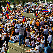 CONCENTRATION CHAVEZ NO MORE / CONCENTRACION NO MAS CHAVEZ<br /> Photography by Aaron Sosa<br /> Caracas - Venezuela 2009<br /> (Copyright © Aaron Sosa)