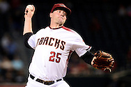 PHOENIX, AZ - JUNE 08:  Archie Bradley #25 of the Arizona Diamondbacks delivers a pitch in the first inning against the Tampa Bay Rays at Chase Field on June 8, 2016 in Phoenix, Arizona.  (Photo by Jennifer Stewart/Getty Images)