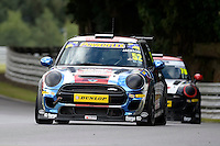 #52 Rebecca Jackson Mini F56 JCW during the MINI Challenge - JCW at Oulton Park, Little Budworth, Cheshire, United Kingdom. August 20 2016. World Copyright Peter Taylor/PSP.