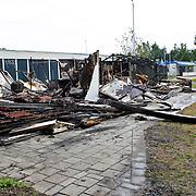NLD/Hilversum/20100810 - Clubhuis motorclub Black Future Hilversum doelwit van aanslag dmv brandstichting