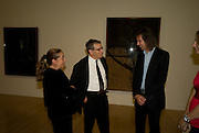 Manuela Mena; Norman Rosenthall; Ivor Braka, Francis Bacon opening private view and dinner. Tate Britain. 8 September 2008 *** Local Caption *** -DO NOT ARCHIVE-© Copyright Photograph by Dafydd Jones. 248 Clapham Rd. London SW9 0PZ. Tel 0207 820 0771. www.dafjones.com.