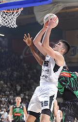 Rade Zagorac of Partizan during basketball match between KK Partizan NIS and KK Petrol Olimpija in Round #2 of ABA League 2018/19, on October 6, 2018, in Aleksandar Nikolić Hall, Belgrade, Serbia. Photo by Nebojsa Parausic / Sportida