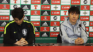 South Korea Press Conference - 23 March 2018