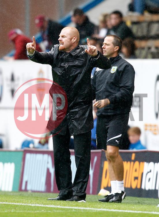 Burnley Manager, Sean Dyche-Photo mandatory by-line: Matt Bunn/JMP - Tel: Mobile: 07966 386802 17/08/2013 - SPORT - FOOTBALL - Turf Moor - Burnley -  Burnley V Yeovil Town - Sky Bet Championship