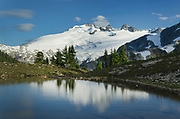 Mount Challenger, seen from Tapto Lake,North Cascades National Park
