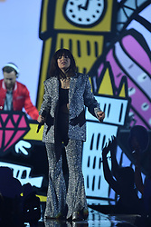 Charli XCX on stage during the MTV Europe Music Awards 2017 held at The SSE Arena, London. Photo credit should read: Doug Peters/EMPICS Entertainment
