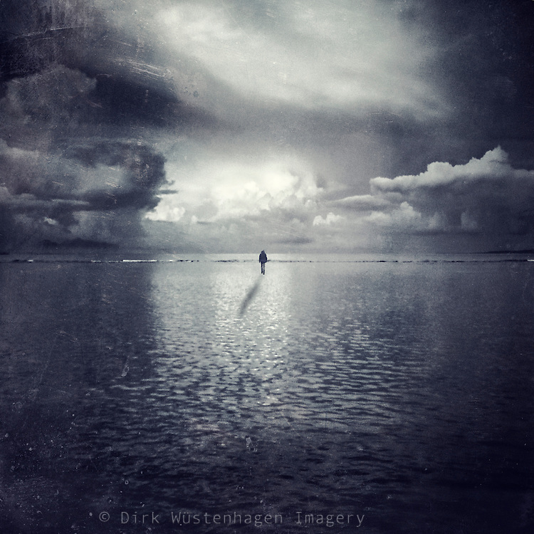 Dreamy surreal seascape<br />
