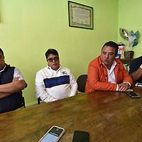 TOLUCA, México.- (Febrero 06, 2019).- Comerciantes instalados del Mercado Juárez respaldan el operativo que se realizo en la zona de la Terminal para retirar el ambulantaje, que les traía problemas de inseguridad. Agencia MVT / Crisanta Espinosa.